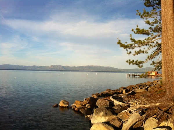 Arrived in Lake Tahoe, home for the next few days. Great scenery!