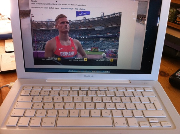 MacBook also perfect as a Olympics viewing option. http://m.bbc.co.uk/2012