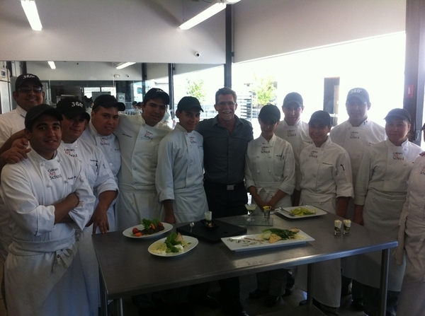 Culinary Arts School, Tijuana: student competition:best modern interp of Tijuana&#039;s orig Caesar salad.Amazing stuff