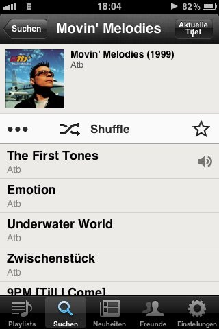 Ja. Genau so. Und dazu das. #atb #movinmelodies  