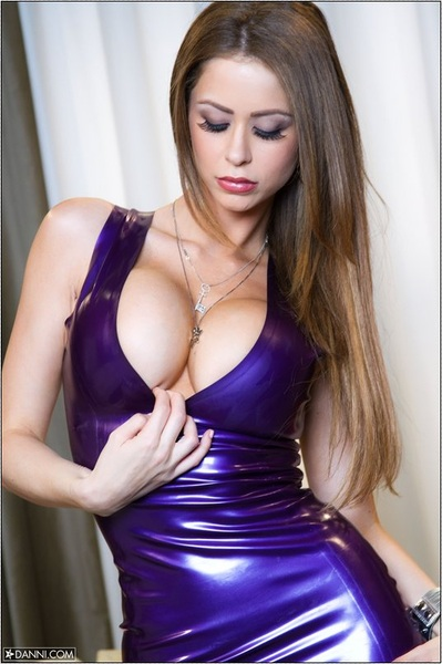 "Sneak Peek of @EmiAddison upcoming @JustSexyDanni gallery ""Latex Fantasy"" .. Next week DANNI.COM"