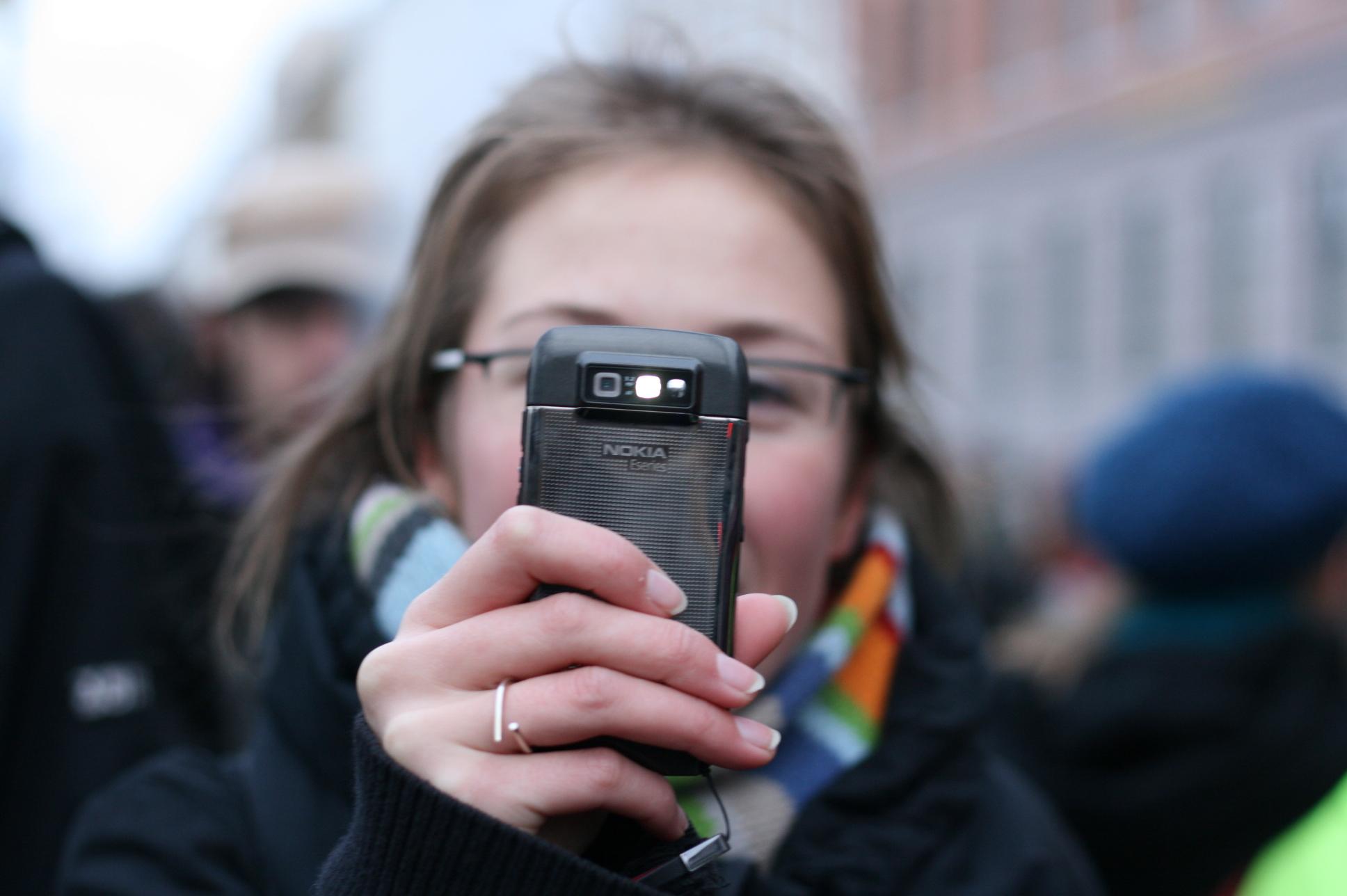 Девушка фото на мобилу