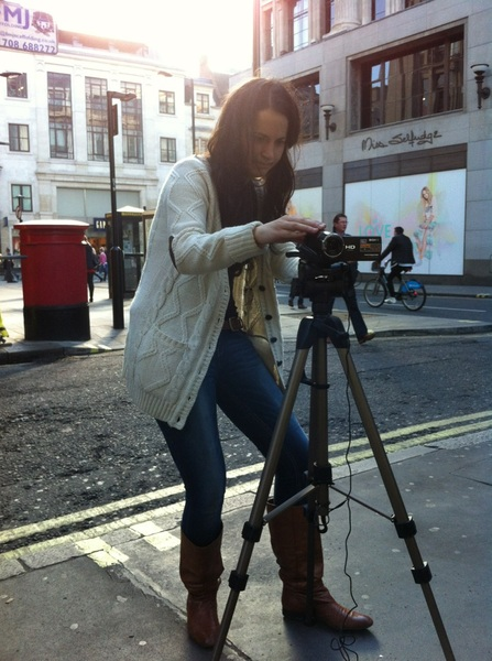 interviewed off Oxford st by @NoesNoe for @startup2