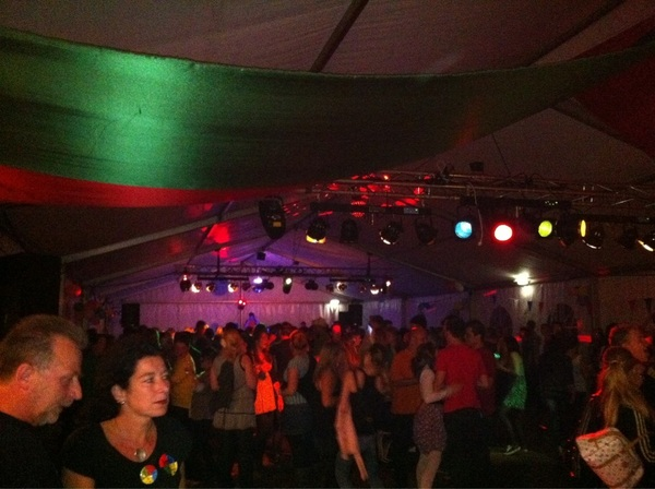 Eind feest #JA2011 hop-a