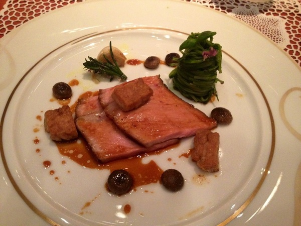 My veal at #Joel Robuchon in Vegas