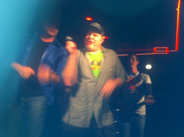 Wahoo! Chaos @TheComedyStore last nite-jammin after hours w my crazy cousins @TonyHinchcliffe  @SimplyDon1 &amp; @johnrich.