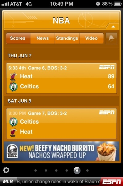 The already saying game 7 no if nec. Just game 7