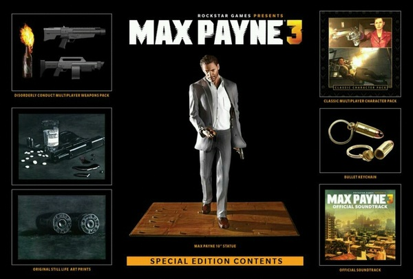 $100 for #MaxPayne3 collection edition? They can Dip it in Gold &amp; encrest it in Diamonds, still FUCK NO! LOL #IJS #IMO