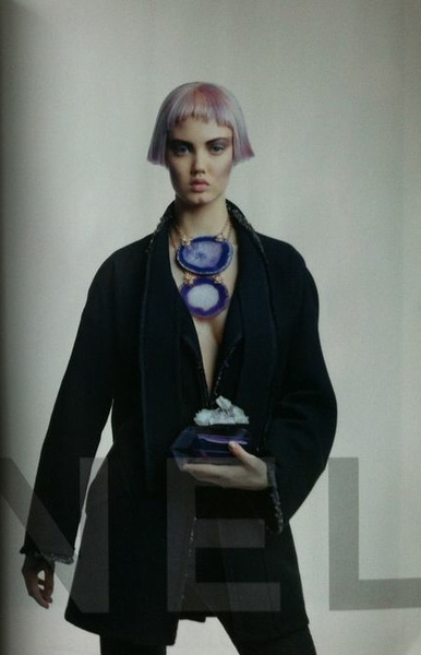 Who has leaked Chanel's FW12 Campaign image starring Lindsey Wixson? Well here's the first look!