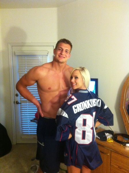 Getting hyped with @RobGronkowski ;)