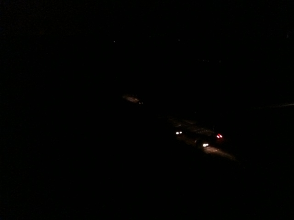 Delft is pitch black! #blackout