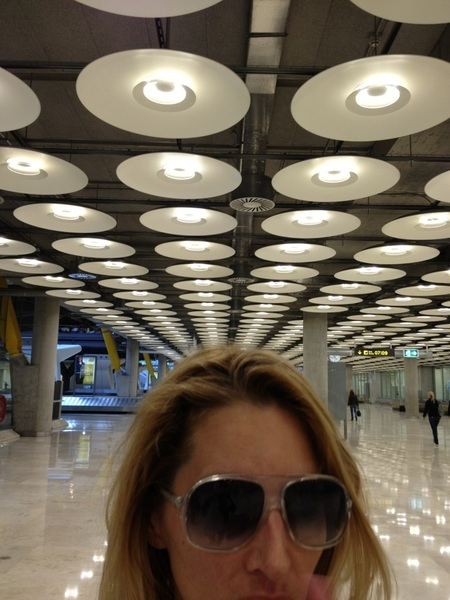 Cool airport in Madrid!!