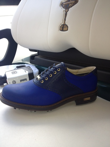 Check out my European blue @ECCOshoes #Worldclass kicks for next week!!!!