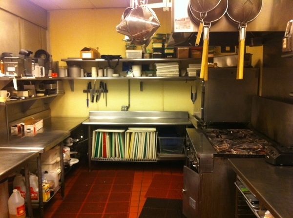 Back kitchen, Frontera Grill: everythng back 2 normal after record-breaking Frontera Farmer Foundatn Benefit Day!