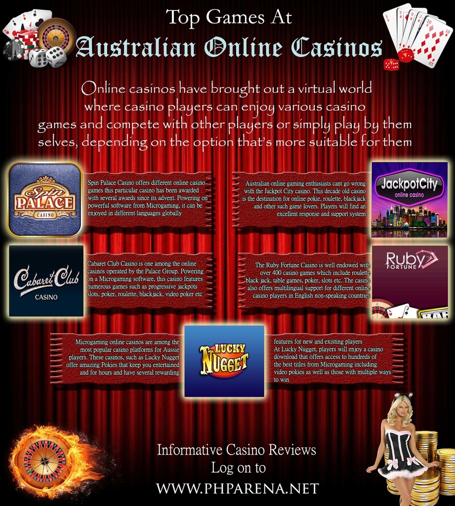 top online casino for australia