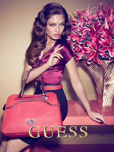 Sandrah Hellberg for Guess Accessories FW12 campaign. Lensed by Claudia & Ralf Püllmanns.