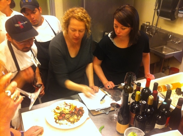 Tasting thru next Topolo menu w sommeliers Jill&Liz: Astonishing Baja! Dishes r off charts.Congrats 2 r chef team!