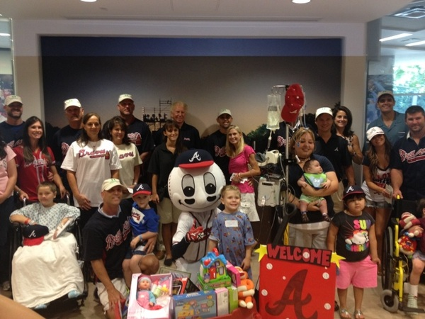 What an incredible day @childrensatl for #ChristmasinJuly!  #ThisIsWhyWeChop