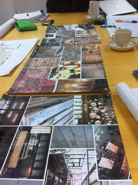 Moodboards voor begane grond #discover033. Thema: redesign! 