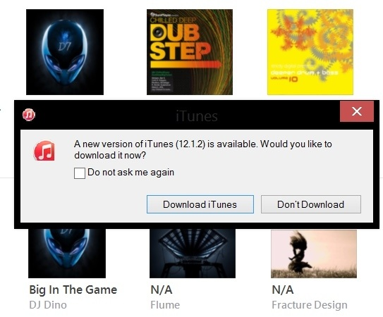 how to get an up to date itunes