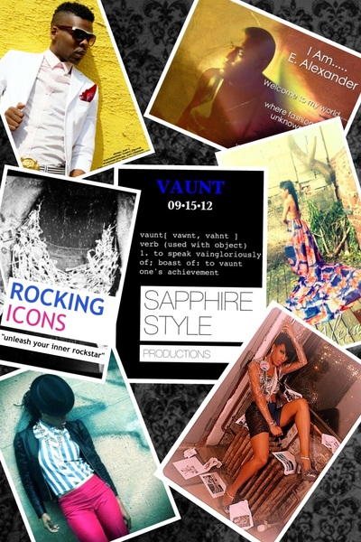 VAUNT trunk Fashion event by @SapphireStyle, including Designers E. Alexander & @JJDbrand . 9/15/12. BE THERE!!! Xoxo