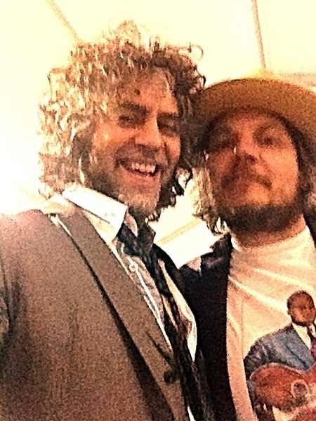 Cool!!! Hangin with Jeff Tweedy!!!!