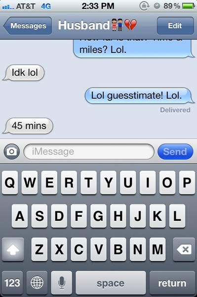 His guesstimating time... 45 minutes!!! He's in Greenville right now. Is that right?