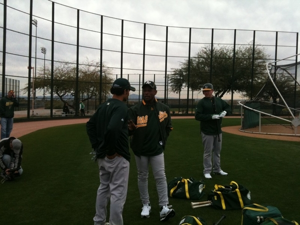 Rickey and Crisp  #athletics #MLB