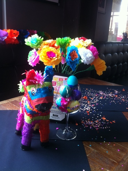Fiesta wine event starts in an hour!!!! Bring your game face! #vivafiesta 