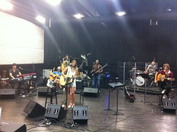 Last day of rehearsals w/ the  @ColbieCaillat band before their summer tour...