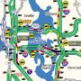 Interesting traffic flow map this morning... #520tolls