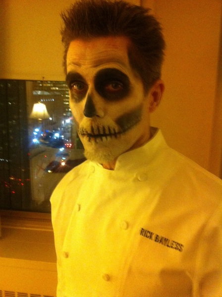 "My costume RT @RickBayless1031 ""@Rick_Bayless: Who is this dude?"" Happy Halloween Rick! #MyCostume."