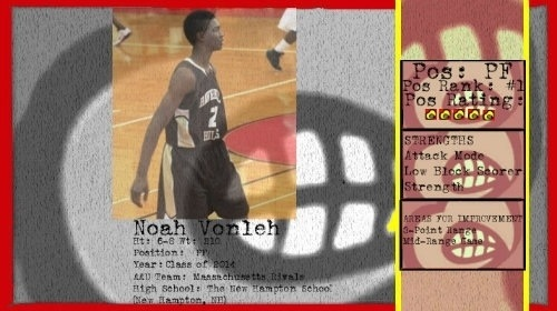 """@TheRecruitScoop: Louisville has offered Noah Vonleh, a 2014 forward from Mass Rivals.""  #UofL #L1C4"