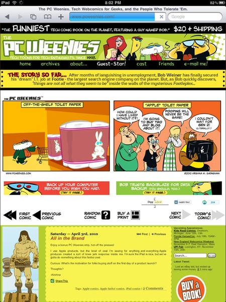 @pcweenies did you see this pcweenies on ipad