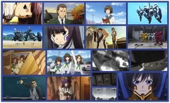 Muv-Luv Total Eclipse ep1 collage