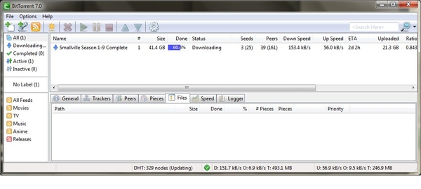 40% more tapos ko na din #Download ko for #Smallville Complete Season 1-9 =D