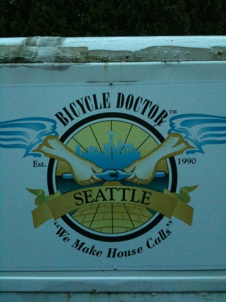 The Bicycle Doctor in Seattle #icon