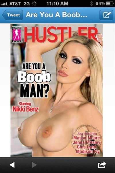 Are you a boob man? #NSFW #newmovie #TittyTuesday