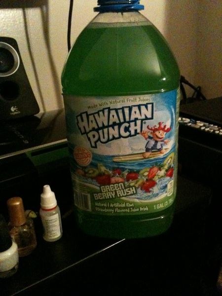 Hawaiian Punch wave :)