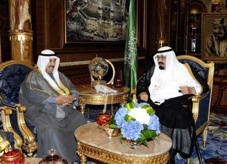 لقطة من لقاء خادم الحرمين الشريفين وسمو رئيس الوزراء