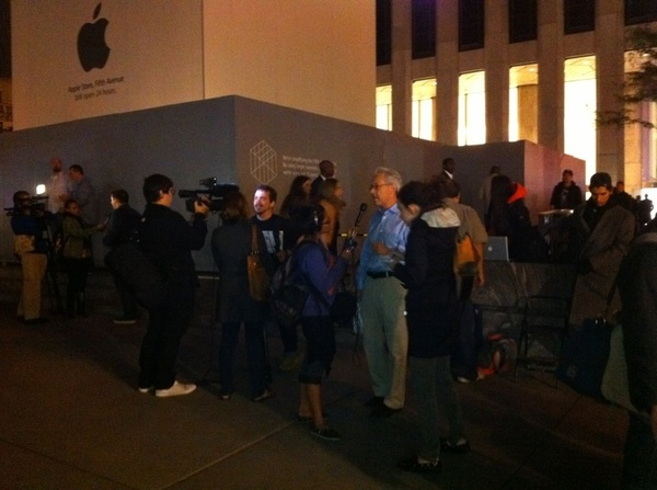 Media #ripstevejobs #applestore #midtownmanhattan